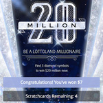 20 Million Scratch Card Review