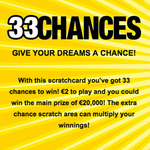 33 Chances Scratch Card Review