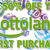 50% discount promo from Multilotto