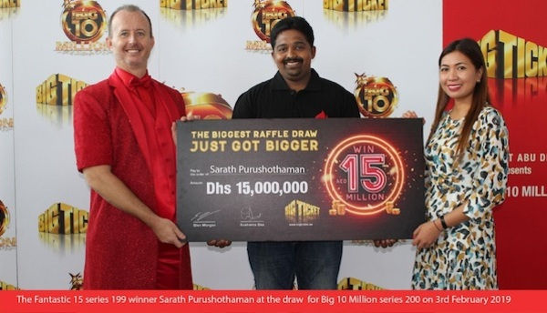 Abu Dhabi Big Ticket Winner