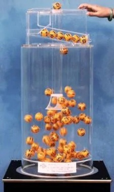 Air-Mix Lottery Ball Machine