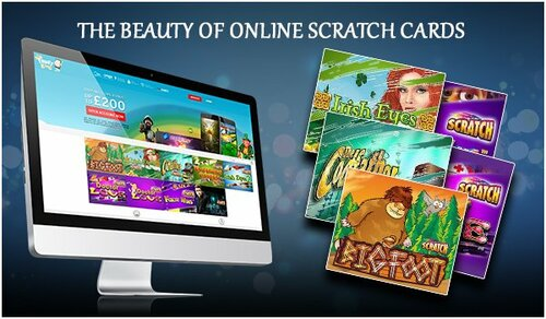 Benefits of Online Scratch Cards