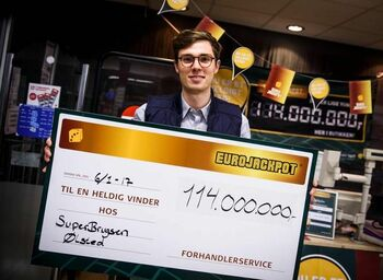 Big EuroJackpot Winner