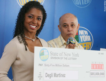 Biggest New York Lotto Winner