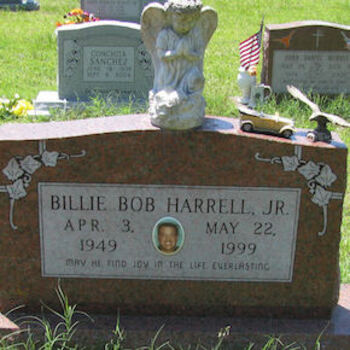 Billie Bob Harrell Jr. Tombstone