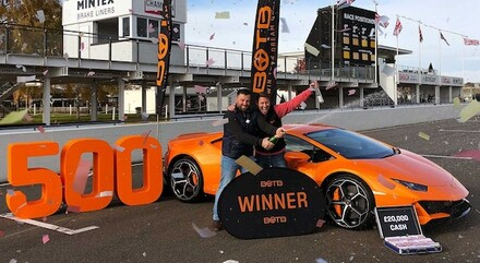 BOTB Lamborghini Winner Chris Phillips