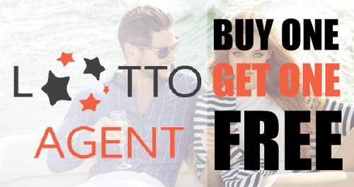 Buy one get one free LottoAgent welcome offer