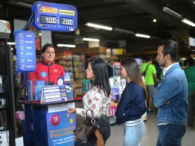 Colombia Baloto Ticket Agent
