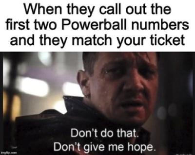 Top Ten Lottery Memes