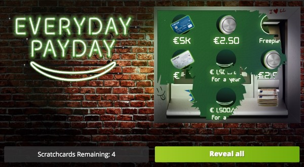 Everyday Payday Scratch Card