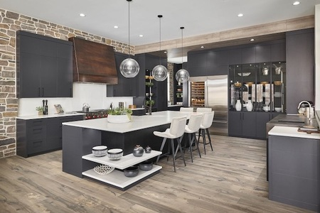Foothills Hospital Home Lottery Grand Prize Showhome Kitchen