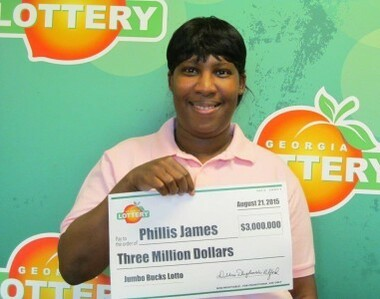 Georgia Jumbo Bucks Winner Phillis James