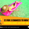 Get 3 chances to win EuroMillions for £1