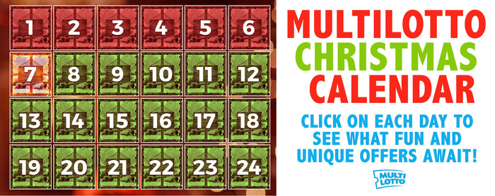 Get a Different Xmas Deal Every Day With Multilotto