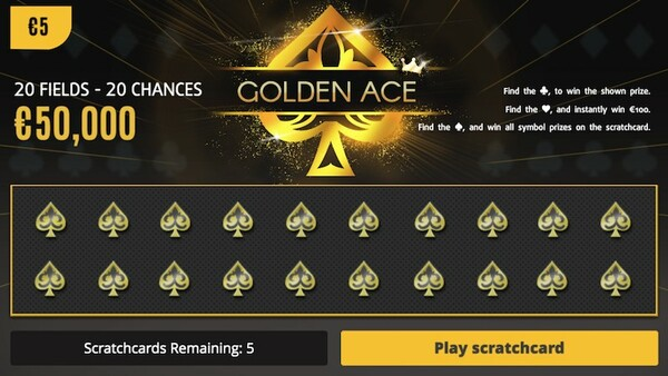 Golden Ace Scratch Card