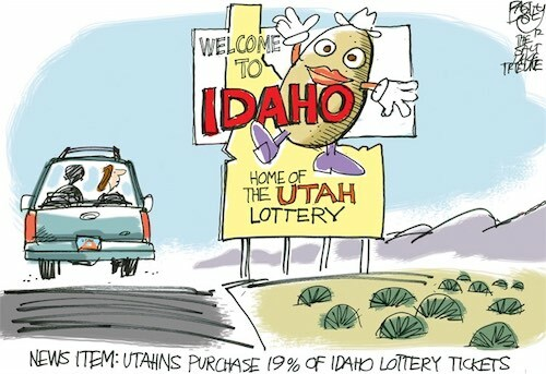 Idaho Home of the Utah Lottery