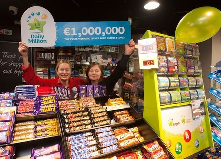 Irish Daily Million Clerks at Winning Store