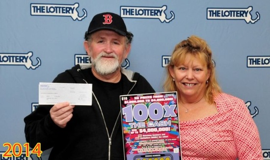 Janet Pflaumer Phillips and Kevin Phillips 2014 100x the Cash Win