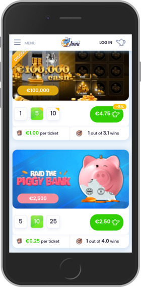 Jinni Lotto Mobile Site Review