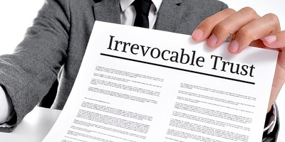 Lawyer Holding Irrevocable Lottery Trust Document