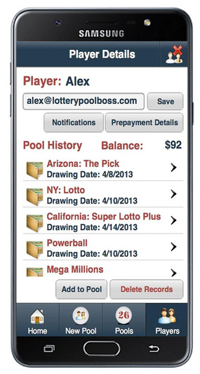 Lottery Pool Boss Screenshot