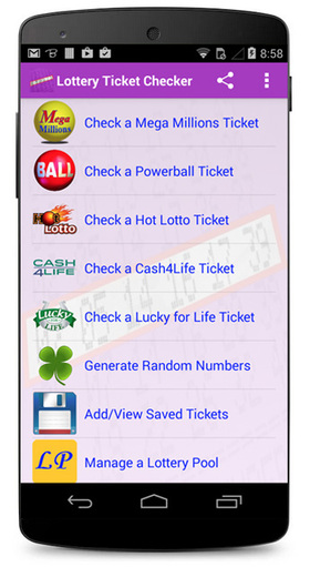 Lottery Ticket Checker (Scanner) Android Screenshot