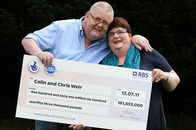 Lottery Winners Colin and Chris Weir