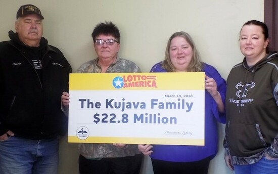 Lotto America Winners Kujava Family