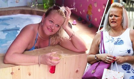 Lotto Gran Susanne Hinte in Hot Tub and Shopping