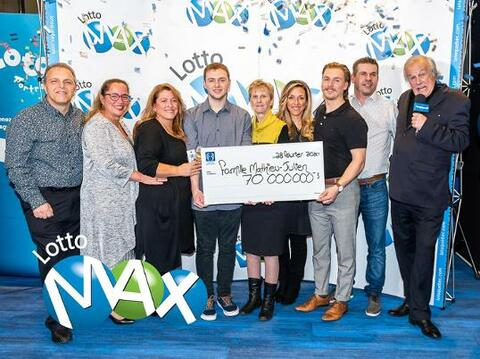 Lotto Max Winner Gregory Mathieu