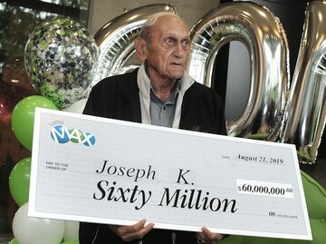 Lotto Max Winner Joe Katalinic