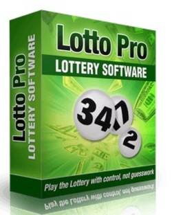 Lotto Pro Lottery Software Box