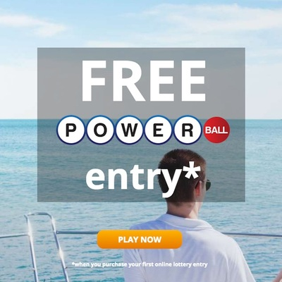 Lotto247 Welcome Offer Free Powerball Entry