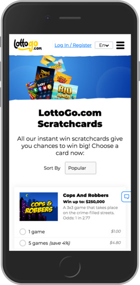 LottoGo Mobile Review