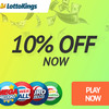 LottoKings 10% off promotion