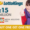 LottoKings Buy 1 Ticket Get 1 Free