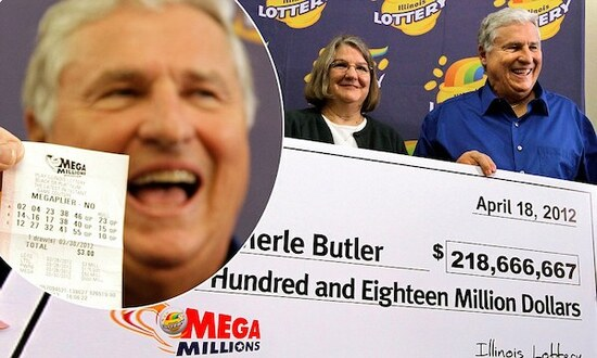 Mega Millions Winners Merle and Patricia Butler