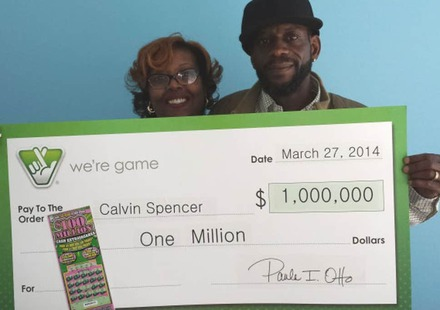 Multiple Lottery Winners Calvin and Zatera Spencer