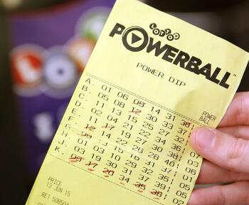 New Zealand Powerball Ticket