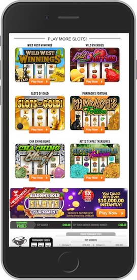 PCHLotto Mobile Site
