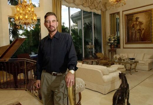 Powerball Winner David Lee Edwards in His Mansion