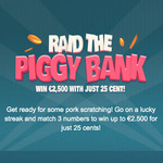 Raid the Piggy Bank Scratch Card Review