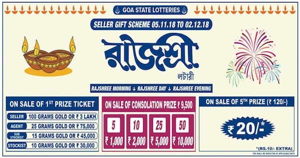 Rajshree Lottery Ticket