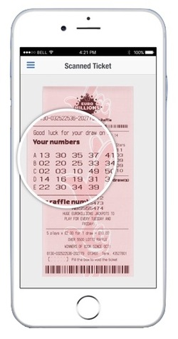 Scanned Lottery Ticket