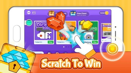 Scratch x Scratch Android Screenshot