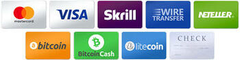 Scratcher Payment Methods