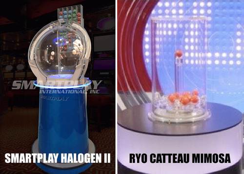 Smartplay Halogen II & Ryo Catteau Mimosa Machines