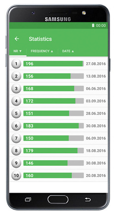 SuperEnalotto Numbers & Statistics Android Screenshot