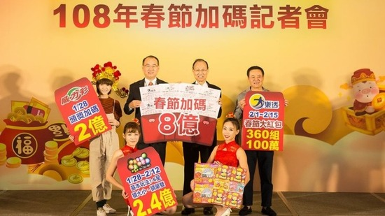 Taiwan Lotto 6/49 Winners