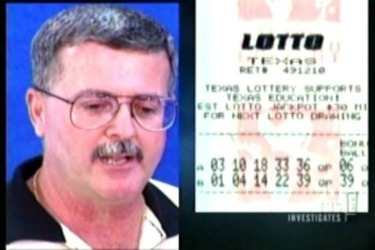 Texas Lottery Winner Billie Bob Harrell Jr